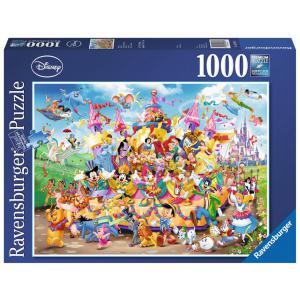 Disney - 19383 - Puzzle 1000 pièces - Carnaval Disney (379974)