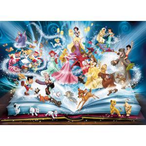 Disney - 16318 - Puzzle 1500 pièces - Le livre magique des contes Disney (380000)