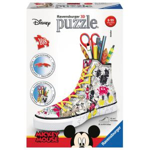 Minnie - 12055 - Puzzle 3D Sneaker - Sneaker Mickey Mouse (380044)