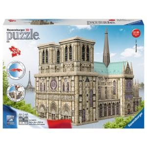 Ravensburger - 12523 - Puzzle 3D Building - Collection maxi - Notre-Dame de Paris (380056)