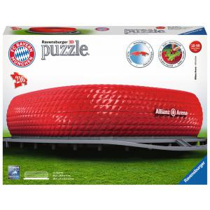 Ravensburger - 12526 - Puzzle 3D Building - Collection maxi - Allianz Arena (380058)