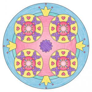 Ravensburger - 29703 - Mandala Designer® Classique - Jeu créatif - Licornes (380114)