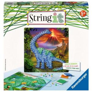 Ravensburger - 18031 - Jeu créatif - String It midi Dinosaurs (380134)
