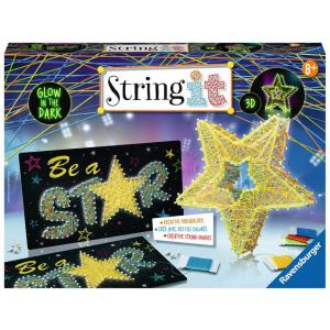 Ravensburger - 18052 - Jeux créatifs - String It maxi: 3D Stars (380140)