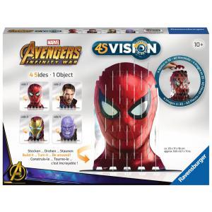 Ravensburger - 18047 - Jeux créatifs - 4S Vision Avengers Infinity War-Iron Man & Co. (380158)