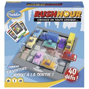 Ravensburger - 76302 - Jeu de société famille - ThinkFun - Rush Hour (380172)
