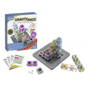 Ravensburger - 76339 - Jeux de société famille - ThinkFun -Gravity Maze (international box) (380176)