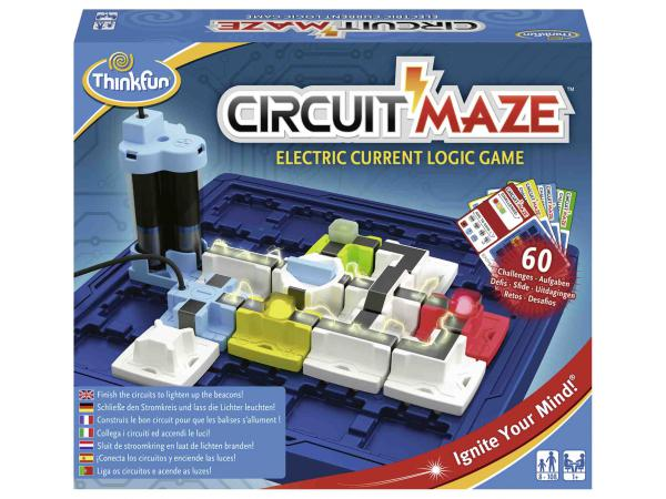 Jeu de société famille - thinkfun - circuit maze