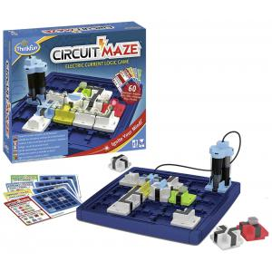 Ravensburger - 76341 - Jeux de société famille - ThinkFun -Circuit Maze (international box) (380178)
