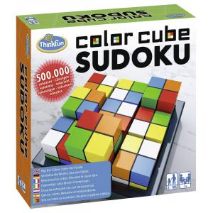 Ravensburger - 76342 - Jeux de société famille - ThinkFun -Color Cubes Sudoku (international box) (380188)