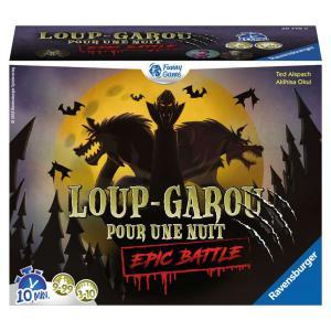 Ravensburger - 26779 - Jeux de société famille - Jeux d'ambiance -Loup-Garou pour une Nuit - Epic Battle (380194)