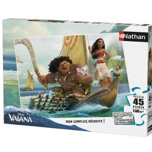 Nathan puzzles - 86536 - Puzzle 45 pièces - Nathan - Voyage au bout du monde / Vaiana (380234)