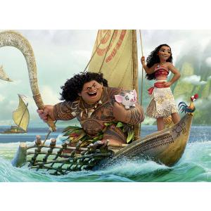 Disney - 86536 - Puzzle 45 pièces - Nathan - Voyage au bout du monde / Vaiana (380234)