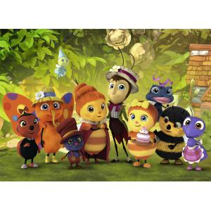 Nathan puzzles - 86531 - Puzzle 45 pièces - Nathan - Drôles de Petites Bêtes (380242)