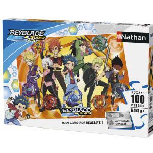 Nathan puzzles - 86762 - Puzzle 100 pièces - Nathan - Photo de famille / Beyblade Burst (380260)
