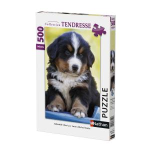 Nathan puzzles - 87147 - Puzzle 500 pièces - Nathan - Adorable chiot (380284)