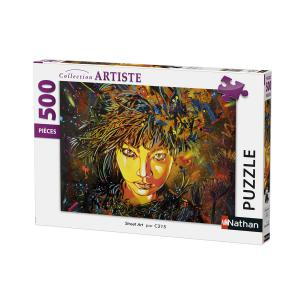 Nathan puzzles - 87203 - Puzzle 500 pièces - Nathan - Street art (380294)