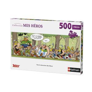 Nathan puzzles - 87206 - Puzzle 500 pièces - Nathan - Vers le Domaine des Dieux / Astérix (380300)