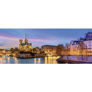 Nathan puzzles - 87577 - Puzzle 1000 pièces - Nathan - Panorama de Paris (380318)