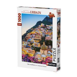 Nathan puzzles - 87576 - Puzzle 1000 pièces - Nathan - Côte almafitaine (380320)