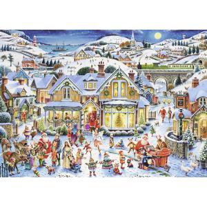 Nathan puzzles - 87567 - Puzzle 1000 pièces - Nathan - La féérie de Noël (380332)