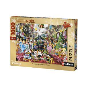 Nathan puzzles - 87565 - Puzzle 1000 pièces - Nathan - La magie de Noël avec Disney (380336)