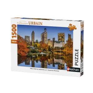 Nathan puzzles - 87788 - Puzzle 1500 pièces - Nathan - New York en automne (380340)