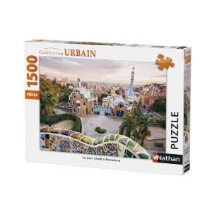 Nathan puzzles - 87789 - Puzzle 1500 pièces - Nathan - Le parc Güell à Barcelone (380342)