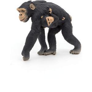 Papo - 50194 - Figurine Chimpanzé et son bébé (380434)