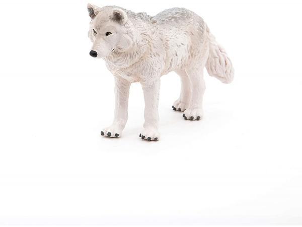 Figurine loup polaire