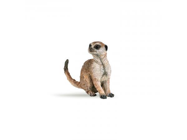 Figurine suricate assis