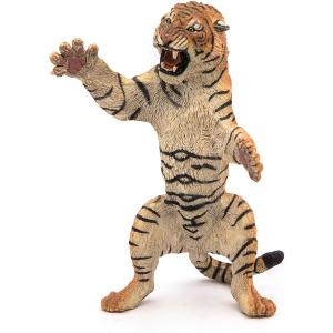 Papo - 50208 - Tigre debout - Dim. 12,5 cm x 7,8 cm x 5,8 cm (380460)
