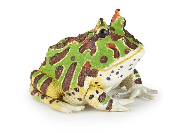 Figurine grenouille cornue