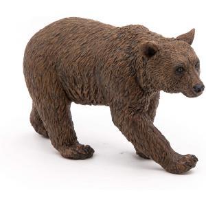 Papo - 50240 - Ours brun - Dim. 9,9 cm x 3,5 cm x 8,5 cm (380516)