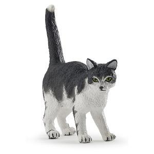 Papo - 54041 - Chat noir et blanc - Dim. 2,5 cm x 5 cm x 5 cm (380570)