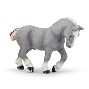 Papo - 51551 - Figurine Percheron gris (380580)