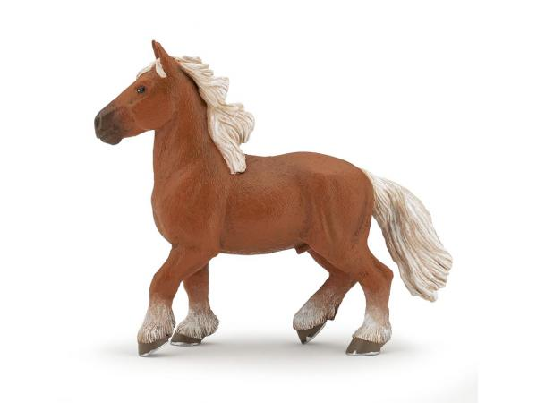 Figurine cheval comtois