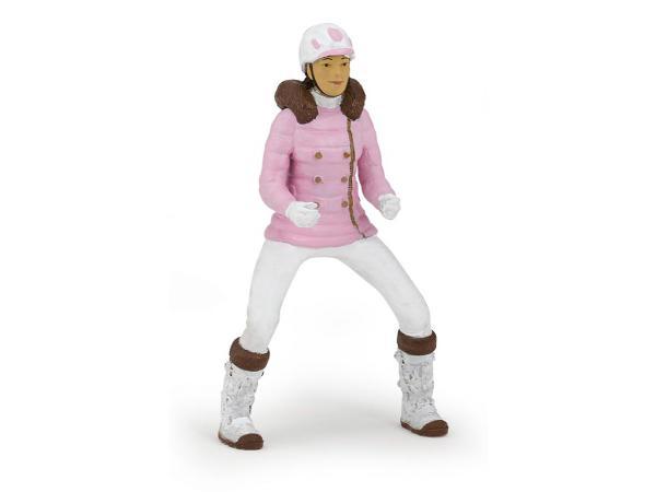 Figurine cavalière fashion hiver