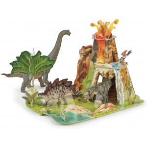 Papo - 60600 - La terre des dinosaures - Dim. 56 cm x 4 cm x 42 cm (380660)