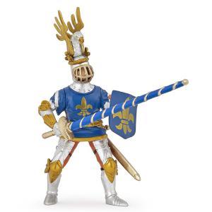 Papo - 39788 - Figurine Chevalier bleu fleur de lys (380684)