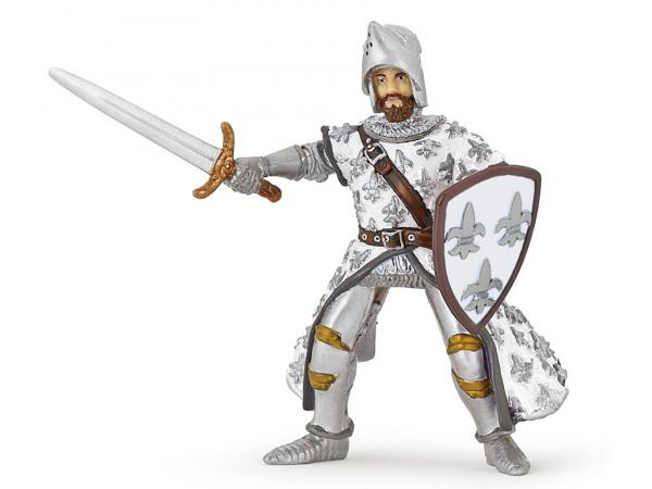 Figurine prince philippe blanc