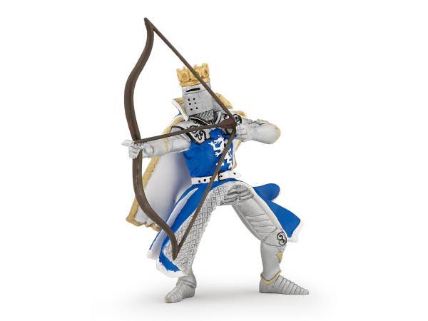 Figurine roi au dragon à l'arc