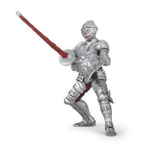 Papo - 39798 - Chevalier en armure - Dim. 7,3 cm x 11,4 cm x 9,2 cm (380702)