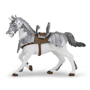 Papo - 39799 - Figurine Cheval en armure (380704)