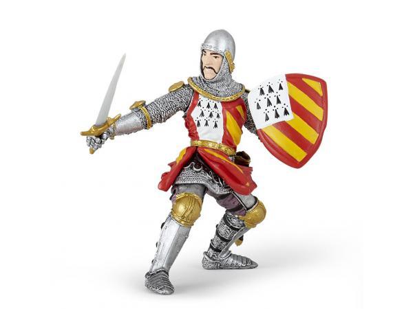Figurine chevalier au tournoi