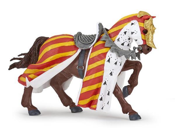 Figurine cheval de tournoi