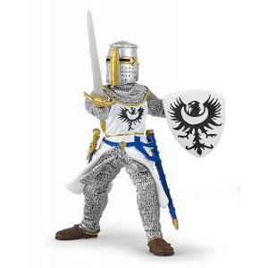 Papo - 39946 - Chevalier blanc à l'épée - Dim. 7,8 cm x 6,5 cm x 10,4 cm (380714)