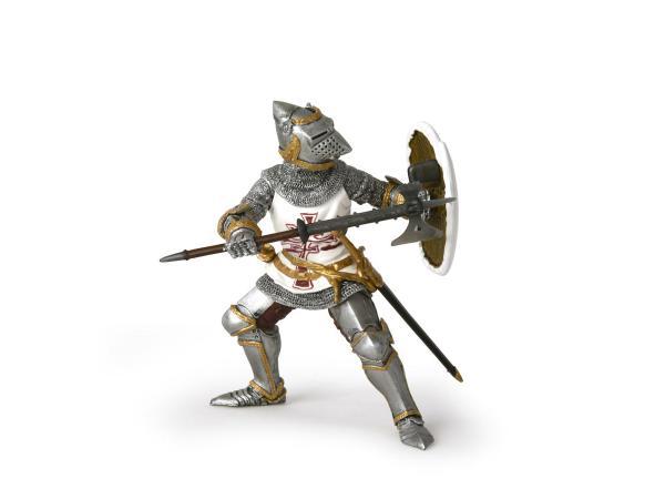 Figurine chevalier teutonique