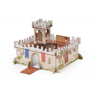 Papo - 60007 - Le Château du Prince Philippe  - Dim. 47,5 cm x 26,5 cm x 44 cm (380720)