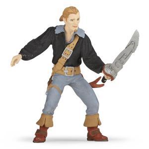 Papo - 39472 - Pirate héros - Dim. 6,5 cm x 1,5 cm x 8,5 cm (380796)